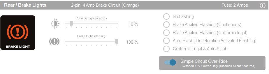 """DENALI CAN bus controller """"Single Circuit Override"""""""