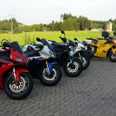 INNOVV K2 motorcycyle dash camera system including Parking Mode