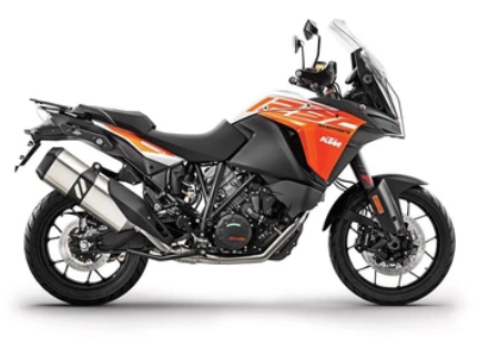 KTM Adventure bikes can be equipped with a CAN bus accessories controller