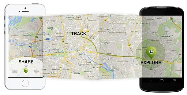 Share your ride with the built-in GPS module