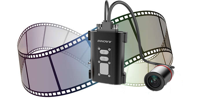 The INNOVV C5 enables loop recording video files