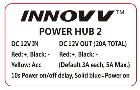 Tech Label INNOVV PowerHub 2