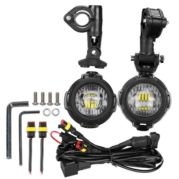 Package content of LED 40W MOTO-MATE.COM lights