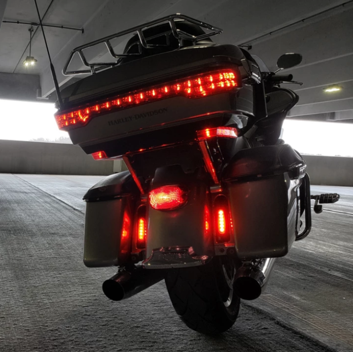 DENALI CANsmart controller lets you install auxiliary brake lights to your Harley-Davidson