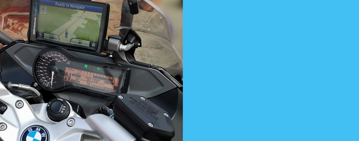 Nav Mount for Raised GPS for BMW R1200RS
