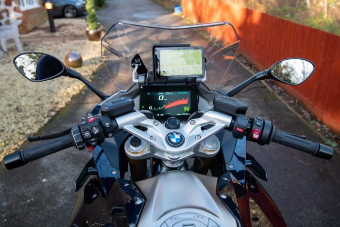 Nav Mount for Raised GPS for BMW R1250RS