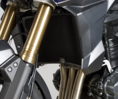 Radiator Guard - Triumph Tiger Explorer 1200 ('12-) RAD0118BK