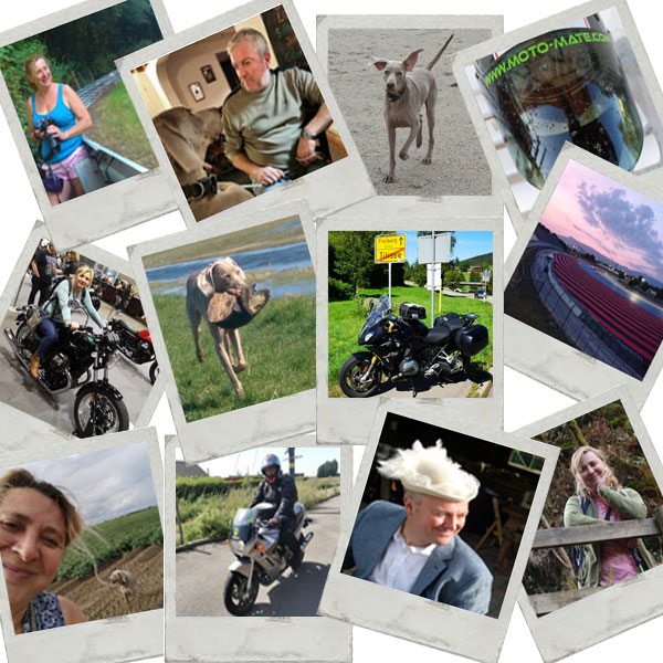 Moto-Mate Team on Tour