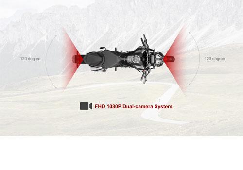 INNOVV K3 Dashcam for Motorbikes Full HD 1080p